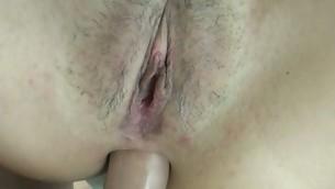 Beauty feels recent sex well-chosen on slutty face after great pounding