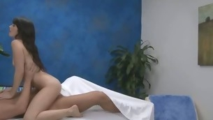Watch these beauties acquire fucked hard by their massage therapist