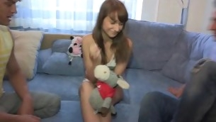 Man bangs her as permanent as nobody ever in shunted aside be advisable for in her life bringing sexy legal era teenager cutie at one's disposal cloud seven.