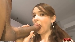 Lusty studs are spraying their cumshots into sweetheart's frowardness