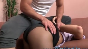 Wench performs unfathomable indiscretion blow previous to getting dick in butt